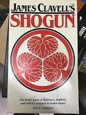 Rare James Clavell's SHOGUN - 1983 Board Game by FASA - Complete