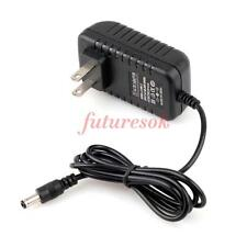 New AC 100V-240V DC 12V 1A 1000mA Power Supply EU Plug DC 5.5mm x 2.5mm