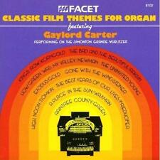 Classic Film Themes for organo feat. Gaylord Carter Simonton grande Wurlitzer Nuovo