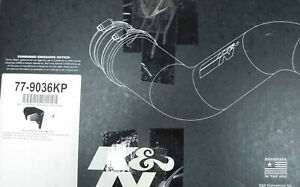 K&N 77-9036KP 77 Series Hi-Performance Air Intake, Liftime, Washable, Toyota