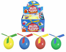 2 X BALLOON HELICOPTER FUN FLY TOYS BOYS GIRL BIRTHDAY PARTY BAG FILLERS