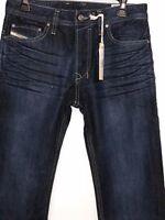 DIESEL Mens Safado Dark Wash ORZ32 Jeans Size 27 x 30/32 DL4