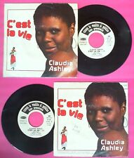 LP 45 7'' CLAUDIA ASHLEY C'est la vie 1977 PROMO italy HARMONY no cd mc dvd
