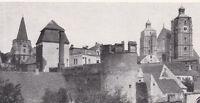 Ingoldstadt - Ortsansicht mit Stadtmauer - um 1920 -  RAR