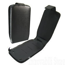 CUSTODIA COVER CASE FODERO PORTACELLULARE ECO PELLE PER BLACKBERRY 8520 CURVE