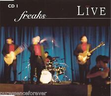 LIVE - Freaks (UK 3 Track CD Single Part 1)