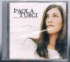 PAOLA TURCI QUESTA PARTE DI MONDO CD SIGILLATO!!!