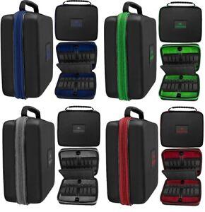Mission Dart Koffer Luxor Tasche XL Dartkoffer für 12 Darts 4 Sets Soft / Steel