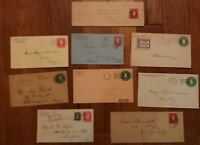Group of 9 Hartford issue stationery better uses, destinations etc [y2844]