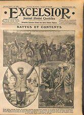 Prisoners Soldiers Officers Feldgrauen Poilus Bataille de la Somme WWI 1916