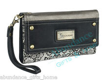 Anna Nova Journie Paris Nights Ladies Tri Fold Wallet Purse *New*