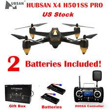 Hubsan H501S High X4 FPV Drone 5.8G Brushless 1080P GPS Black RC Quadcopter RTF