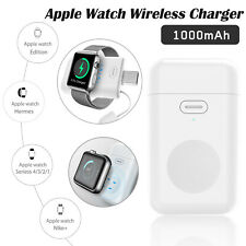 For Apple Watch Series 5 4 3 2 1 Magnetic Wireless Charger Portable Power Bank
