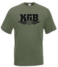 T-shirt Maglietta J1856 Stemma Bassa Visibilità KGB Servizi Segreti URSS