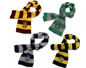Wizard Scarf for Harry Potter Fantastic Beasts Cosplay Costume Book Day Gift UK