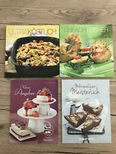 4x Tupperware Kochbuch Rezeptbuch Ultra Köstlich Einfach Lecker Kleiner Angeber