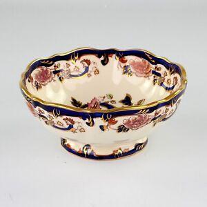 Masons Ironstone Blue Mandalay, Fruit Bowl, 8 Inches