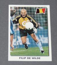 5 DE WILDE ANDERLECHT BELGIQUE BELGIË DIABLES PANINI SUPER FOOTBALL 99 1998-1999