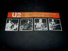 U2 Elevation Tour Shirt ( Used Size Xl ) Nice Condition!