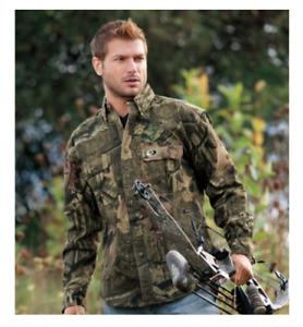 Mossy Oak Break Up Infinity Camo Hunting Fishing Camping long sleeve shirt  4XL
