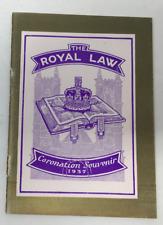 The Royal Law Coronation Souvenir 1937