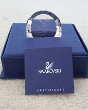 Swarovski Crystal ~ Scs 2004 Anna Paperweight Sign ~ Mint With Box & Coa 660295