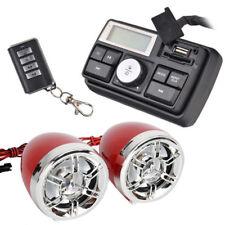 UTV, ATV, Anti-Theft Speakers FM USB Audio System Stereo W/Remote Waterproof