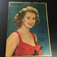 VTG Sunday News Coloroto Magazine March 20 1955 Virginia Mayo Cover, Newsstand