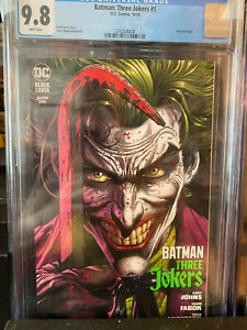 🔥 Series Batman Three Jokers Book #1 cgc 9.8 Key issues