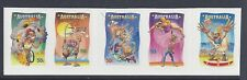 Australia 2007 Circus Under the Big Top strip of 5 Booklet Stamps