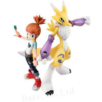 Digimon Tamers Renamon Rika Nonaka Cute PVC Figure Model Toy 6''