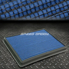 FOR 99-17 SILVERADO/SIERRA BLUE REUSABLE/WASHABLE DROP IN AIR FILTER PANEL