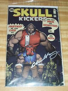Skullkickers #1! (2010) Hulk Homage Variant! Signed by Edwin Huang! NM! COA!