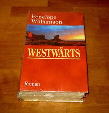 BUCH WESTWÄRTS - Penelope Williamson - ROMAN - GEBUNDEN - TOP