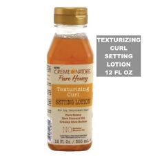 CREME OF NATURE PURE HONEY TEXTURIZING CURL SETTING LOTION 12 fl oz.