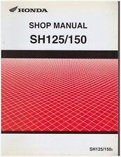 Handbuch von Werkstatt in Italienisch Honda SH125 SH150 von 2005 Al 2008 Cod.