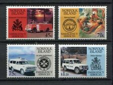 28203) NORFOLK ISLAND 1993 MNH** Nuovi** Emergency services 4v