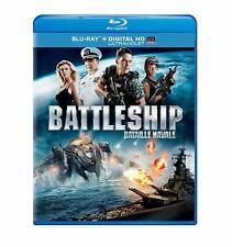 Battleship (Blu-ray/DVD/Digital Copy 2012, Bilingual) Free Shipping In Canada