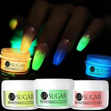 3 Boxes UR SUGAR 5ml Luminous Dipping Powder Acrylic Tips Nail Extension Tips