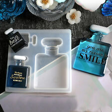 Perfume Bottle Silicone Pendant Making Jewelry Resin Necklace Mould Epoxy Craft
