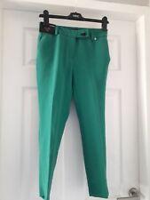 Next Green Trousers Size 6 Petite Bnwt
