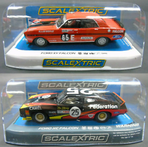 (C3869+C3928) Scalextric Bundle Set Ford XC Falcon XY Gtho Bathurst 1:32 New