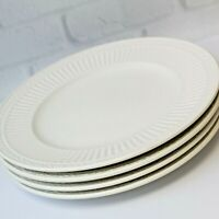 "Set of 4 Mikasa Italian Countryside Luncheon Salad Plates Ribbed 8.5"" DD900"