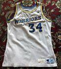 Tom Tolbert Golden State Warriors Game Worn Jersey Vintage 1990 Size 46