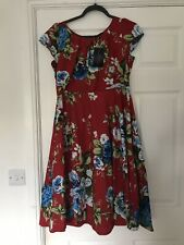 Looking Glam 50s Floral Dress Size 14