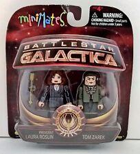 Diamond select Battlestar Galactica President Laura Roslin and Tom Zarek