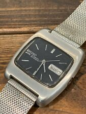 Vintage Seiko DX STAINLESS Automatic Mens Watch 6106-5410 25 Jewel Day/Date