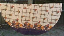 "Print Fall Cornucopia Pumpkin Oval 66""X60"" Tablecloth Free Shipping"