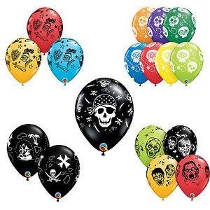 "6 x 11"" Printed Qualatex Latex Balloons - Kids Childrens Birthday Party Themes"