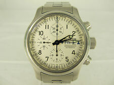 ORIGINAL FORTIS B-42 CHRONOGRAPH AUTOMATIC STAHL HERRENUHR MIT STAHLBAND